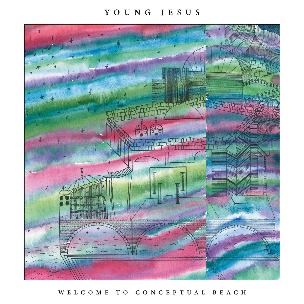 young jesus welcome to conceptual beach альбом рецензия 2020